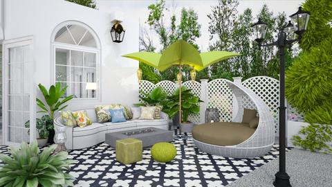 Pool Pavilion 2 - Garden  - by Fofinha