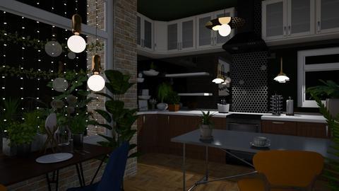 Urban Jungle Kitchen - Kitchen  - by Faiths441