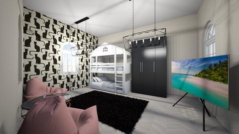 tiener kamer  - Modern - Bedroom - by Kootje