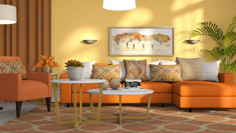 542 - Modern - Living room  - by Claudia Correia