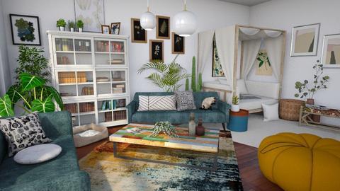 Mattia - Living room  - by LillMiaaa