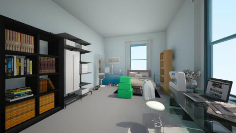 My Alone Bedroom - Bedroom  - by MiuSks