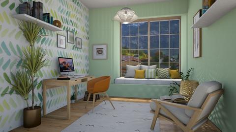 home office - Office - by nuray kalkan
