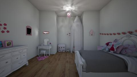 little princess - Kids room  - by pandabomb