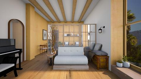 Futon Living - Living room  - by heyfeyt