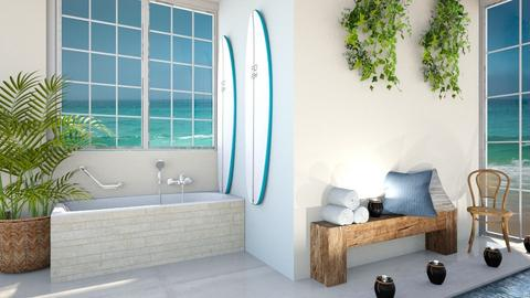 Quiet Paradise - Bathroom  - by Meghan White