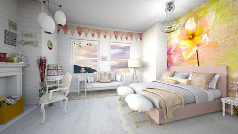 Room Contest_Shabby Chic - by Feeny