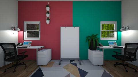 Two sided office - Office  - by Snowball Styler