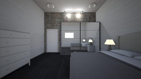 mansionondbed - Bedroom  - by Architectdreams