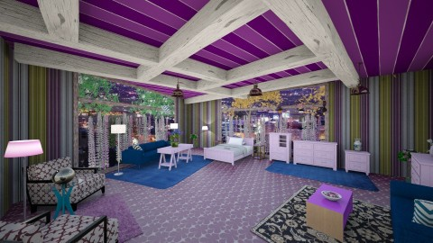 AzureRoom - Minimal - Living room  - by lori gilluly