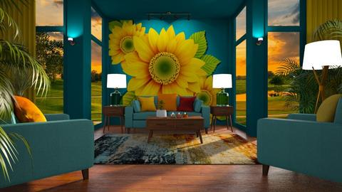 sunflower living - by Bonnie Chappell