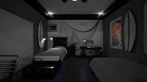 James and John - Bedroom  - by SammyJPili