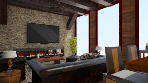 Wooden - Living room - by Debora Cris
