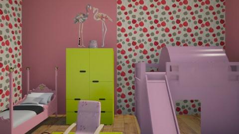 Decija soba - Classic - Kids room  - by milicamima12345