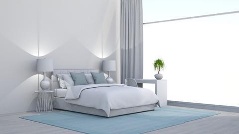 Rug featured room  - Modern - Bedroom  - by DerpyMoggins