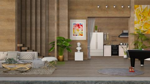 OKeeffe Living Room - by Art_Decoration