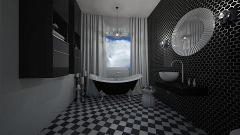 art deco bathroom - Eclectic - Bathroom  - by oanav