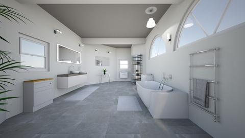 Bathroom 1 - Bathroom  - by liisdesign
