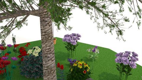 garden - by Liyah_101