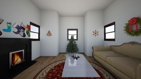 Christmas Living Room - Living room - by xxAveBearxx