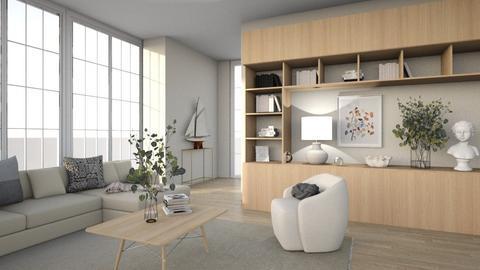 Soft apartment - Living room  - by alvo