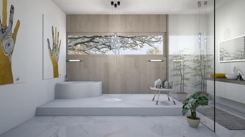 Bath time - Bathroom  - by babucka
