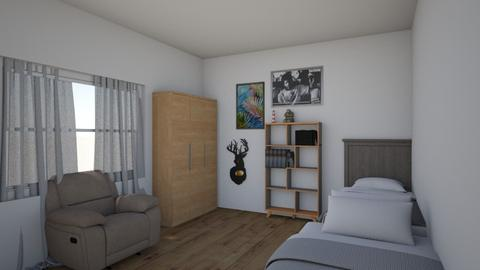 franco poto sucio - Bedroom  - by yekacj