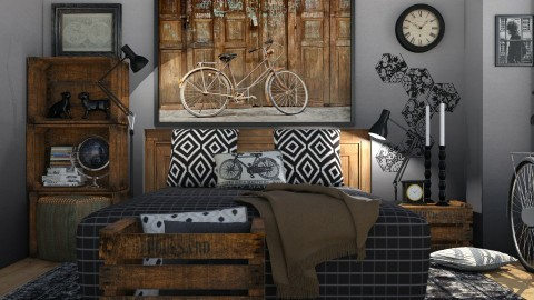 Bike song - Bedroom  - by Liu Kovac