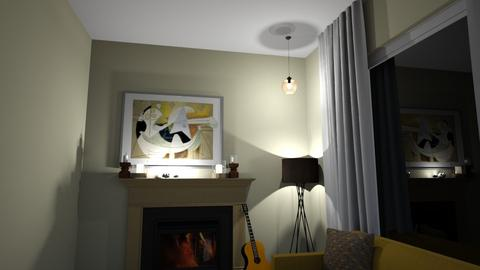 trial - Minimal - Living room  - by SamKajs