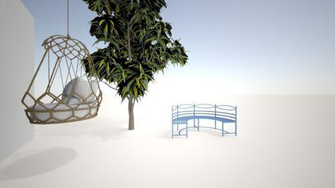 Coucil house - Garden  - by khaughey94