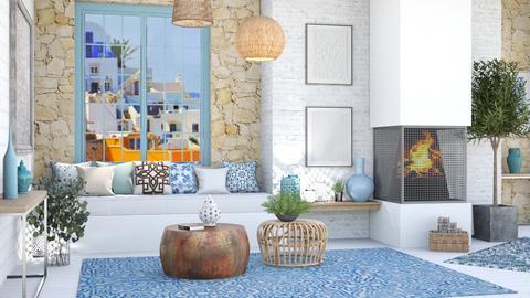 greek 4 - Living room  - by rasty
