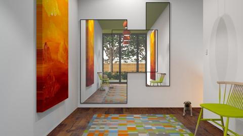 Modern Playful Hallway - by GraceKathryn