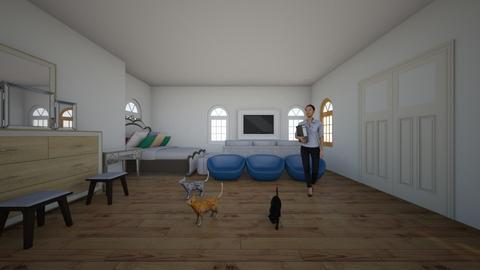 eloises room - Bedroom - by etta swellop