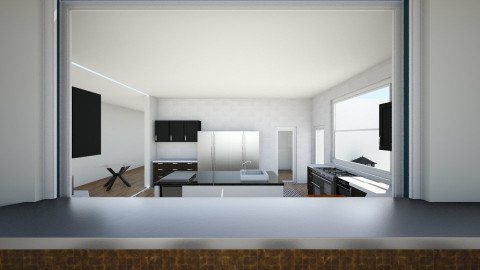 dream kitchen 2 v3 - Eclectic - Kitchen  - by TColl3