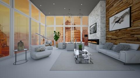 Mansion on Mars - Modern - Living room  - by bgref