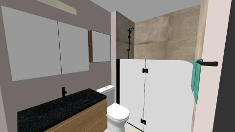Master Bath - Rustic - Bathroom  - by gdbartle