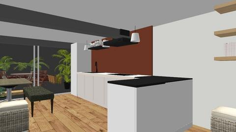 Open kitchen 2 - Kitchen - by amerongomes