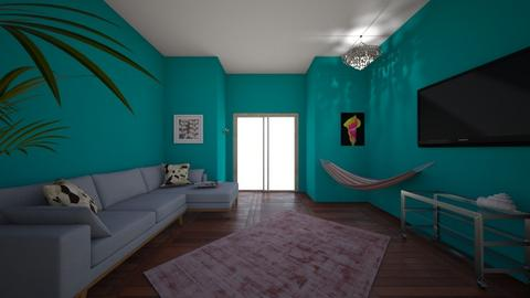 peacock party - Modern - Living room  - by skz1