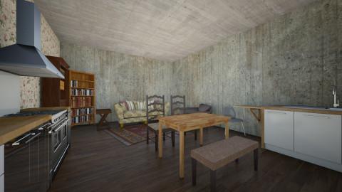lkjbhjhhb - Rustic - Living room  - by kelseyc