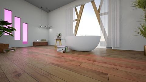 Rustic Bathroom - Rustic - Bathroom  - by YourSisterTho