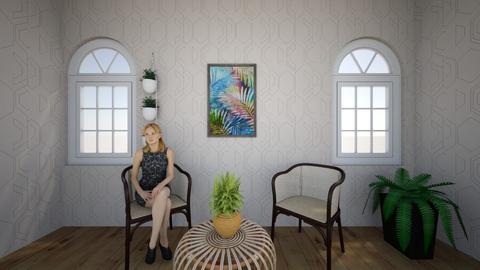 plant living - Living room  - by kwiatowa pandzia