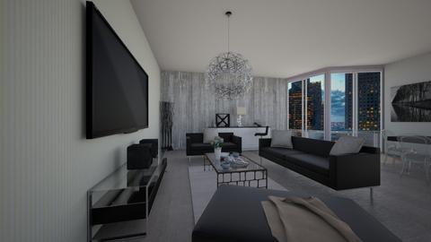 Glamorous - Living room - by KristinaLawyer