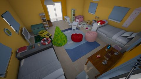 room 2  - Kids room  - by jehanzul
