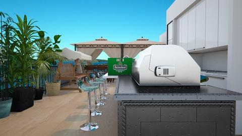 rooftop terrace - by SammyJPili