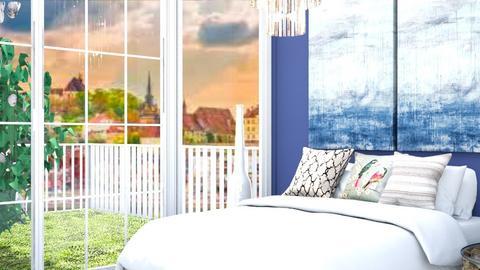 chandelier - Bedroom  - by nihalruttala