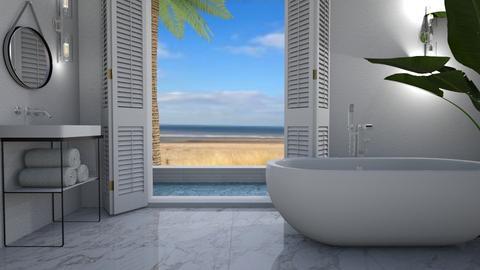 On the beach - Bathroom  - by Thrud45