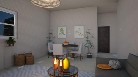 H - Modern - Dining room  - by Yana_Arsenyuk