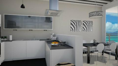 Zebra - Modern - Kitchen  - by Thrud45