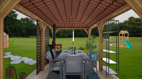 Outdoor Dining - Country - by Isaacarchitect