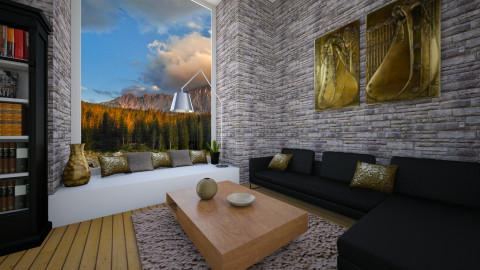Gold - Living room - by Valentina Cremonini